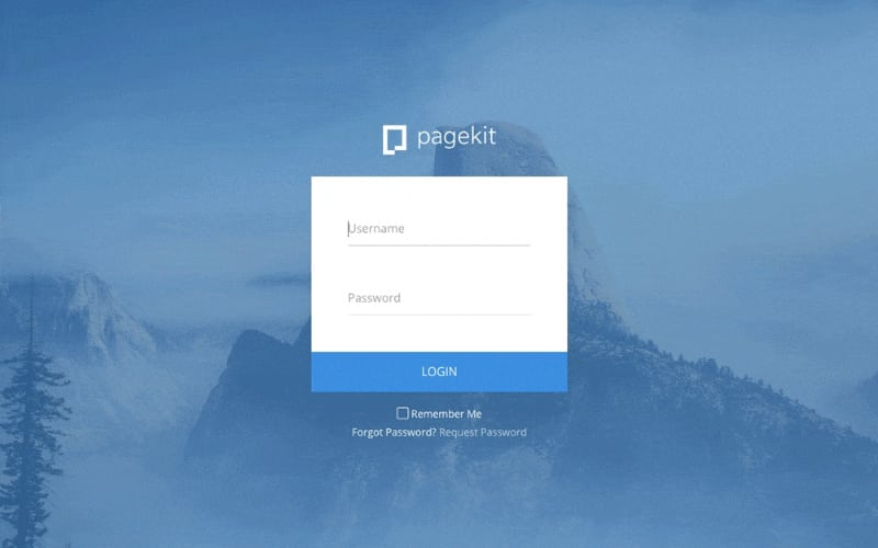 pagekit_user-interface