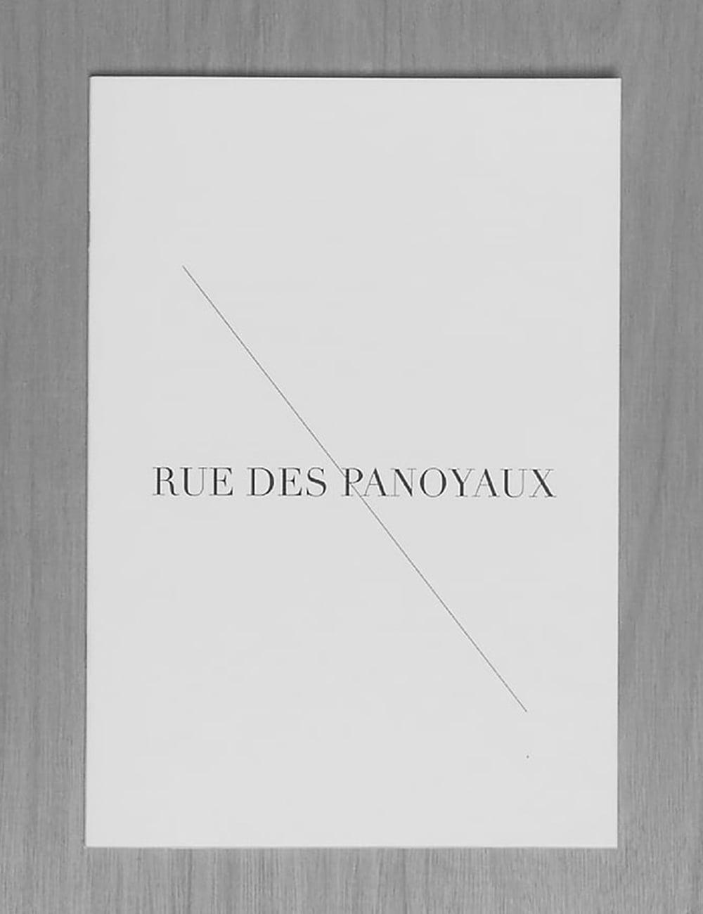 Rue des Panoyaux Copy